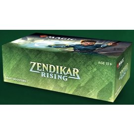 Wizards of the Coast (PREORDER - Local Only) Zendikar Rising Draft Booster Box