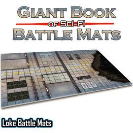 Loke Battlemats Giant Book of Sci-Fi Battle Mats