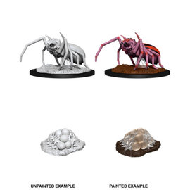 Wiz Kids Wizkids Unpainted: D&D - Wave 12 - Giant Spider & Egg Clutch