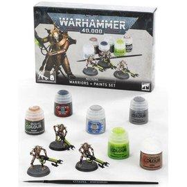Games Workshop Necrons: Warriors + Paints Set (SL)