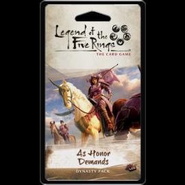 Fantasy Flight L5R LCG: As Honor Demands