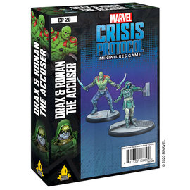 Fantasy Flight Marvel: Crisis Protocol - Drax and Ronan the Accuser Character Pack