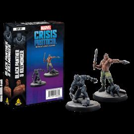 Fantasy Flight Marvel: Crisis Protocol - Black Panther and Killmonger Character Pack