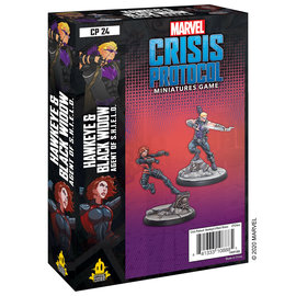 Fantasy Flight Marvel: Crisis Protocol - Hawkeye & Black Widow Character Pack