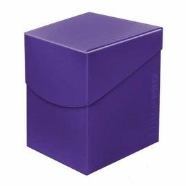 Ultra Pro Eclipse Pro-100+ Deck Box - Royal Purple