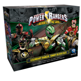 Renegade Power Rangers: Heroes of the Grid Legendary Ranger: Tommy Oliver