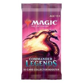 Wizards of the Coast Magic Commander Legends Collector Booster Pack
