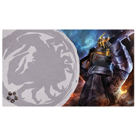 Fantasy Flight Legend of the Five Rings LCG: Defender of the Wall Playmat (Crab Clan)