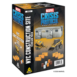 Fantasy Flight Marvel: Crisis Protocol - NYC Construction Site Pack