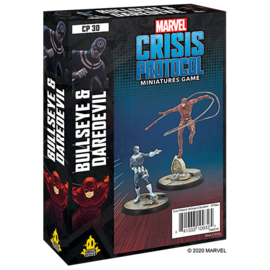 Fantasy Flight Marvel: Crisis Protocol - Bullseye and Daredevil Character Pack