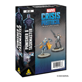 Fantasy Flight Marvel: Crisis Protocol - Punisher and Taskmaster Character Pack