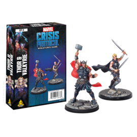Fantasy Flight Marvel: Crisis Protocol - Thor and Valkyrie Character Pack