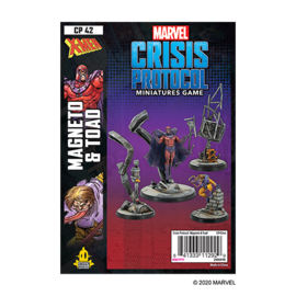 Fantasy Flight Marvel: Crisis Protocol - Magneto and Toad Character Pack