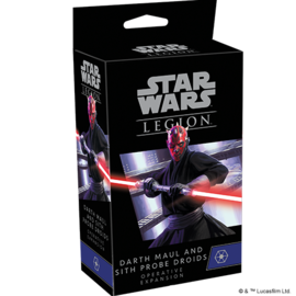 Fantasy Flight Star Wars Legion - Separatist - Darth Maul and Sith Probe Droid Operative Expansion