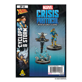 Fantasy Flight Marvel: Crisis Protocol - Cyclops and Storm Character Pack