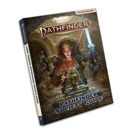 Paizo Pathfinder - Second Edition Lost Omens Society Guide