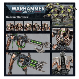 Games Workshop Warhammer 40k: Necron - Necron Warriors