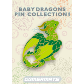 Dragon Pin - The Baby Forest Guardian