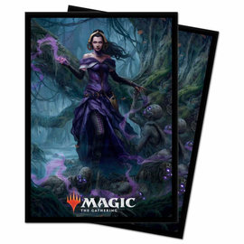 Ultra Pro Magic Standard Sleeves 100ct - Core 2021: Liliana