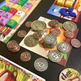 Steeped Games Chai Metal Coins (Kickstarter Exclusive) (Preorder)