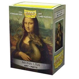Arcane Tinmen Dragon Shields: (100) Matte Art Sleeves - Mona Lisa