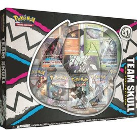 Pokemon International Team Skull Pin Collection