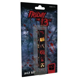 USAopoly d6 Friday the 13th Dice (6)
