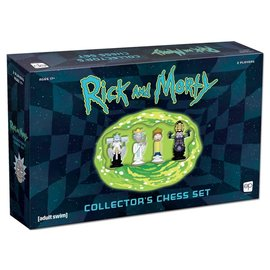 USAopoly Chess: Rick and Morty