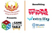 A Game On Every Table Toys For Tots Drive