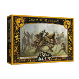 Cool Mini or Not A Song of Ice & Fire: Tabletop Miniatures Game - Baratheon Champions of the Stag