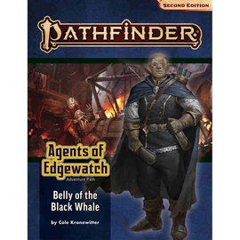 Paizo Pathfinder - Second Edition Adventure Path:  Belly of the Black Whale (Agents of Edgewatch 5 of 6)