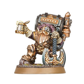 Games Workshop Age of Sigmar: Kharadron Overlords - Jakkob Bugmansson XI: Brewmaster-General