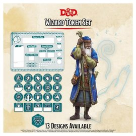 GaleForce Nine Dungeons and Dragons: Token Set - Wizard