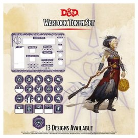 GaleForce Nine Dungeons and Dragons: Token Set - Warlock