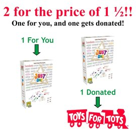 Asmodee Toys For Tots Just One Combo