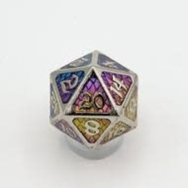 Die Hard Dice Die Hard Dice - Metal Standard Dire D20 - Drakona Khaos Aether