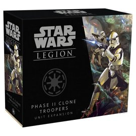 Fantasy Flight Star Wars Legion - Republic - Clone Troopers Phase II Unit