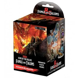 Wiz Kids Dungeons & Dragons Fantasy Miniatures: Icons of the Realms Set 15 - Fangs and Talons Booster