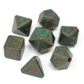 Die Hard Dice Die Hard Dice - Metal 7 Set - Unearthed Sage