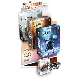 Lucky Duck Games Chronicles of Crime Millennium Series Bundle