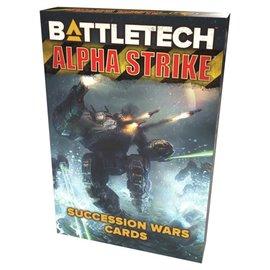 Catalyst BattleTech: Alpha Strike Game Aids - Succession Wars Cards