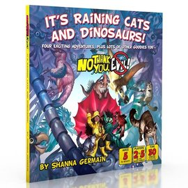 Monte Cook Games No Thank You Evil! RPG: It`s Raining Cats and Dinosaurs