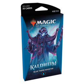 Wizards of the Coast Kaldheim Theme Booster Pack - Blue
