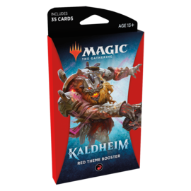 Wizards of the Coast Kaldheim Theme Booster Pack - Red