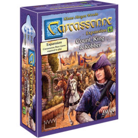 Z-Man Games Carcassonne - Count, King & Robber