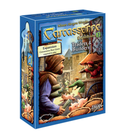 Z-Man Games Carcassonne - Traders & Builders