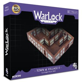 Wiz Kids WarLock Tiles: Town & Village II