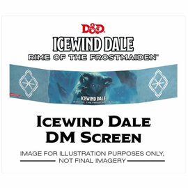 GaleForce Nine Dungeons and Dragons: Icewind Dale - Rime of the Frostmaiden DM Screen