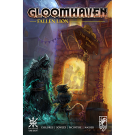 Deep Water Games Gloomhaven: Fallen Lion Comic