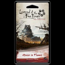 Fantasy Flight L5R LCG: Honor in Flames Dynasty Pack